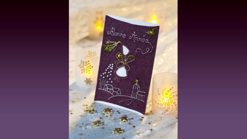 Carte de vœux : La fée des vœux