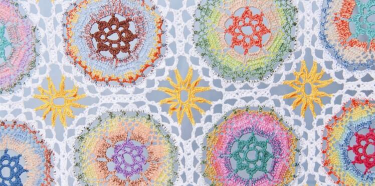 Crochet : la double-bride