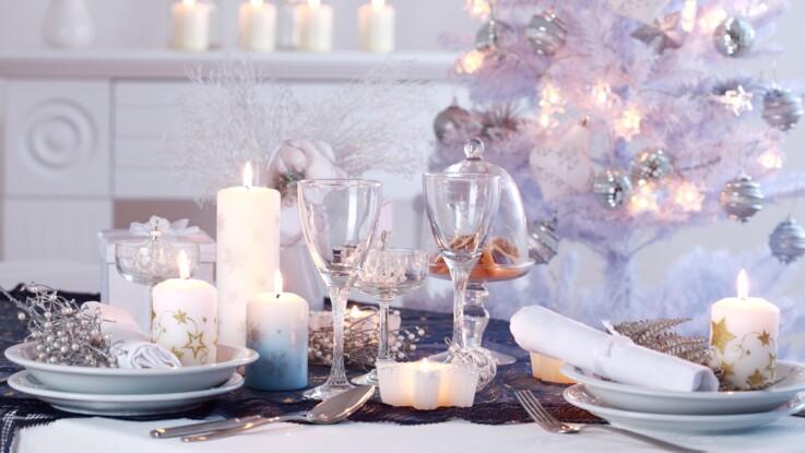Je réalise une table de Noël féérique