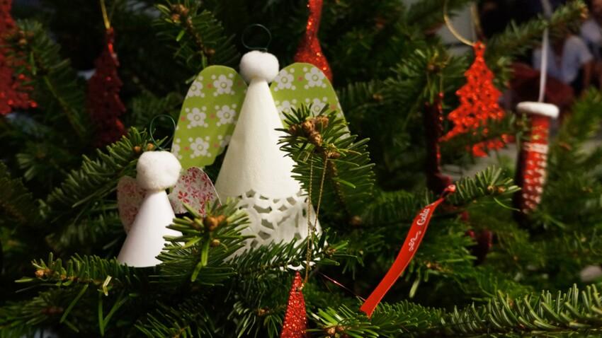 Je crée des anges de Noël en papier