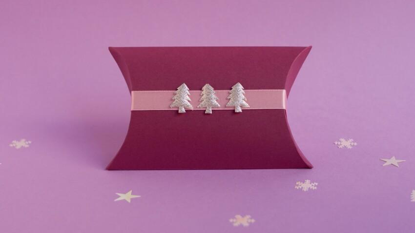 Emballage cadeau : la boîte oreiller