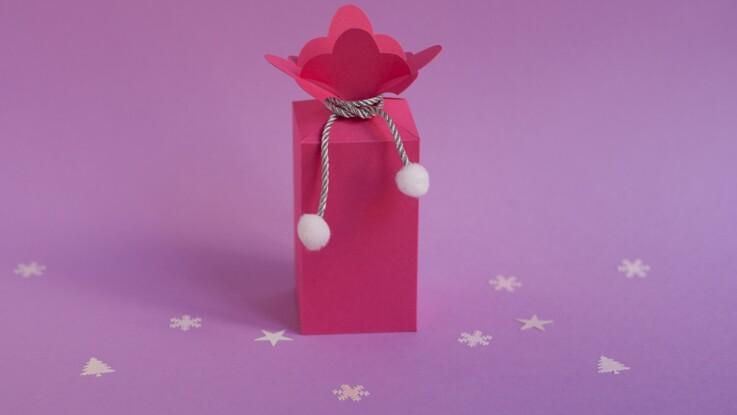 Emballage cadeau : la boîte lys