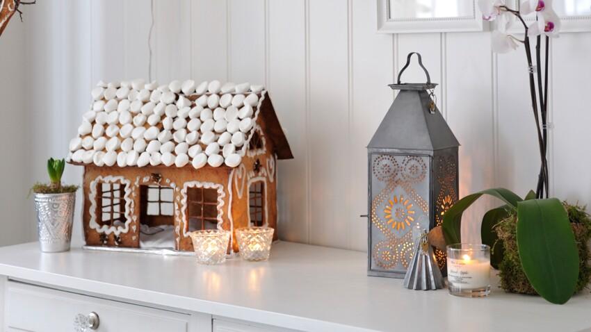 Une maison en pain d'épice