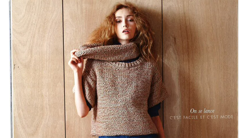 A tricoter : un pull cocooning juste pour moi !