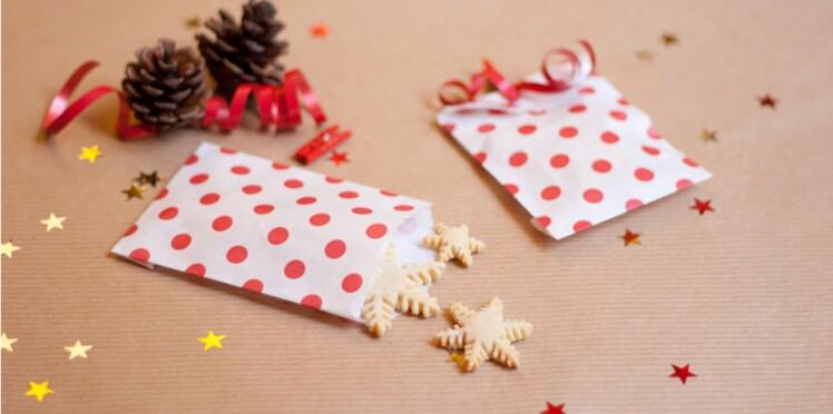 Cadeau d'assiette : des petites pochettes surprises