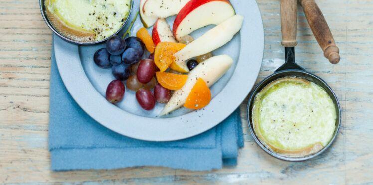 Ça change de la raclette : Raclette de morbier aux fruits