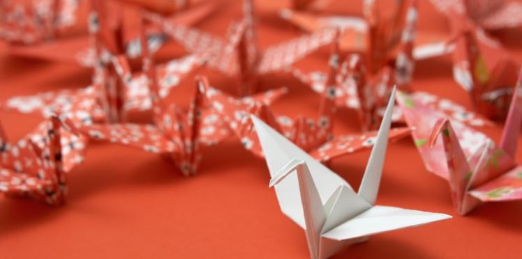 Pliage origami en vidéo : la grue