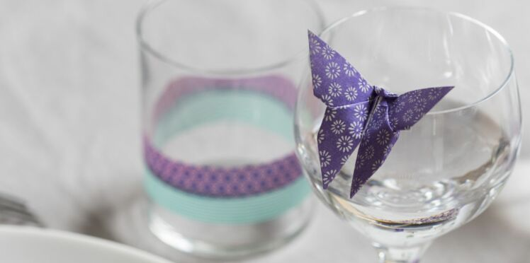 Un papillon en origami en étapes à télécharger