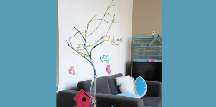Idée créa : La branche prend des couleurs