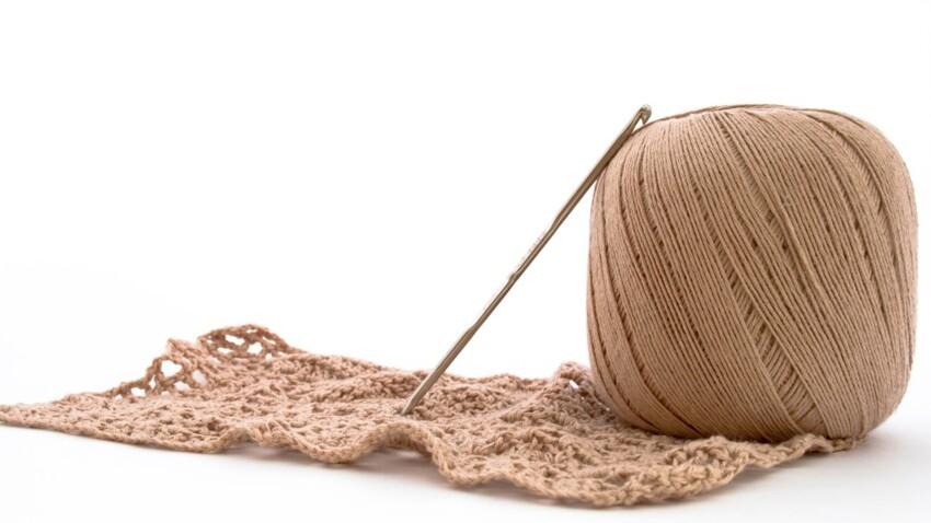 Crochet : la maille coulée en vidéo