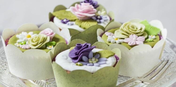 Une super idée pour habiller mes cupcakes !