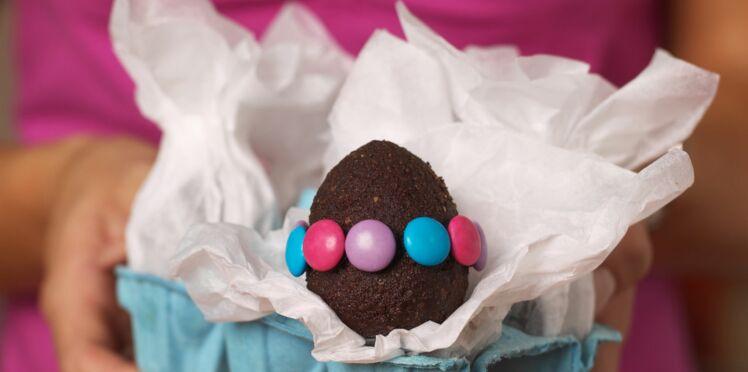 Je fais mes œufs en chocolat