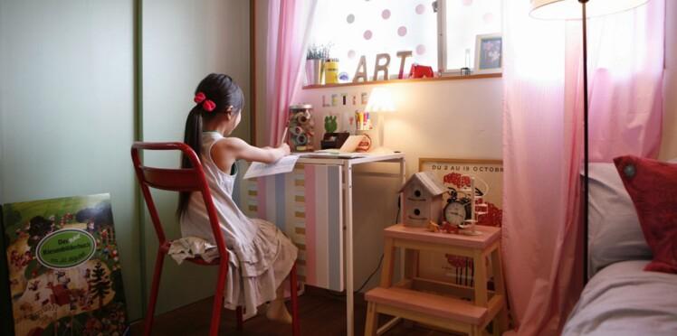 Du Masking Tape pour relooker une chambre d'enfant
