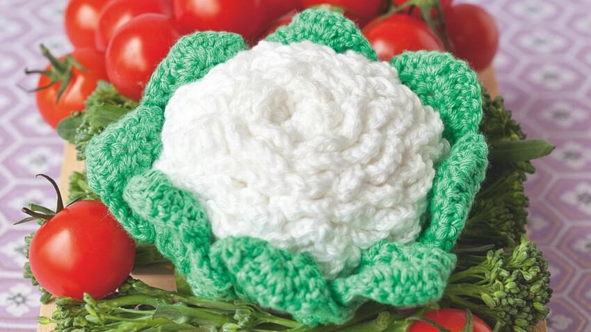 Crochet : je fabrique des choux-fleurs