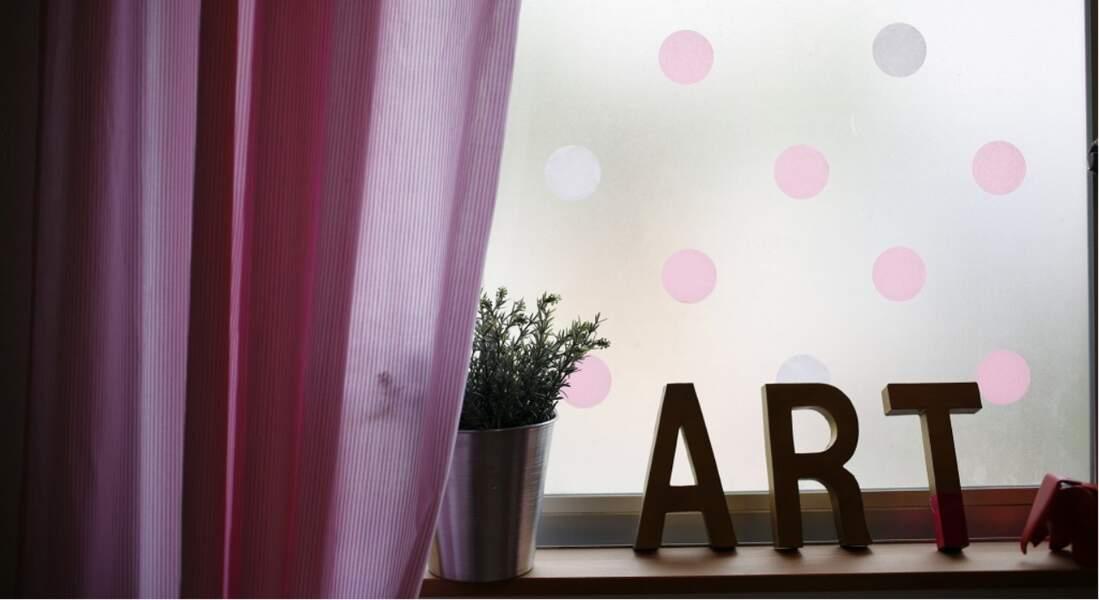 Je décore ma fenêtre avec... du masking tape