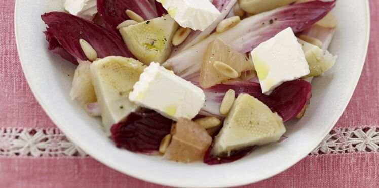 Spécial fromage : Salade joli cœur au Caprice des Dieux
