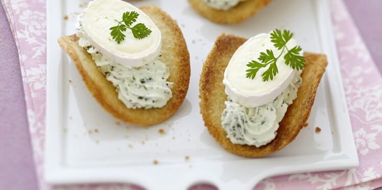 Spécial fromage : Tuiles, chantilly verte et Caprice des Dieux
