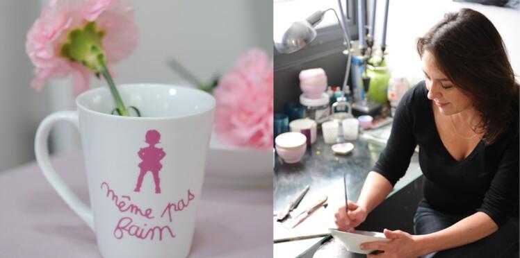 Je crée un mug enfantin