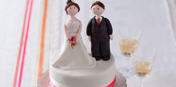 Vidéo : une mariée en pâte à sucre