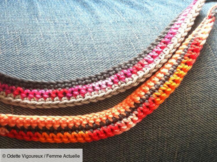 Spécial Débutantes Un Bracelet Au Crochet Femme Actuelle