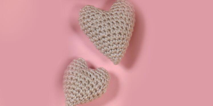 Amigurumis : des coeurs