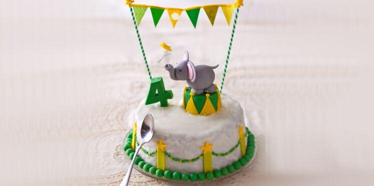 Le gâteau éléphant