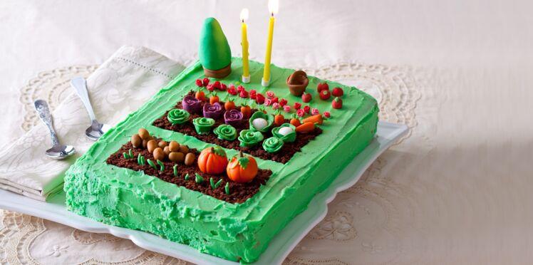 Le gâteau du jardinier