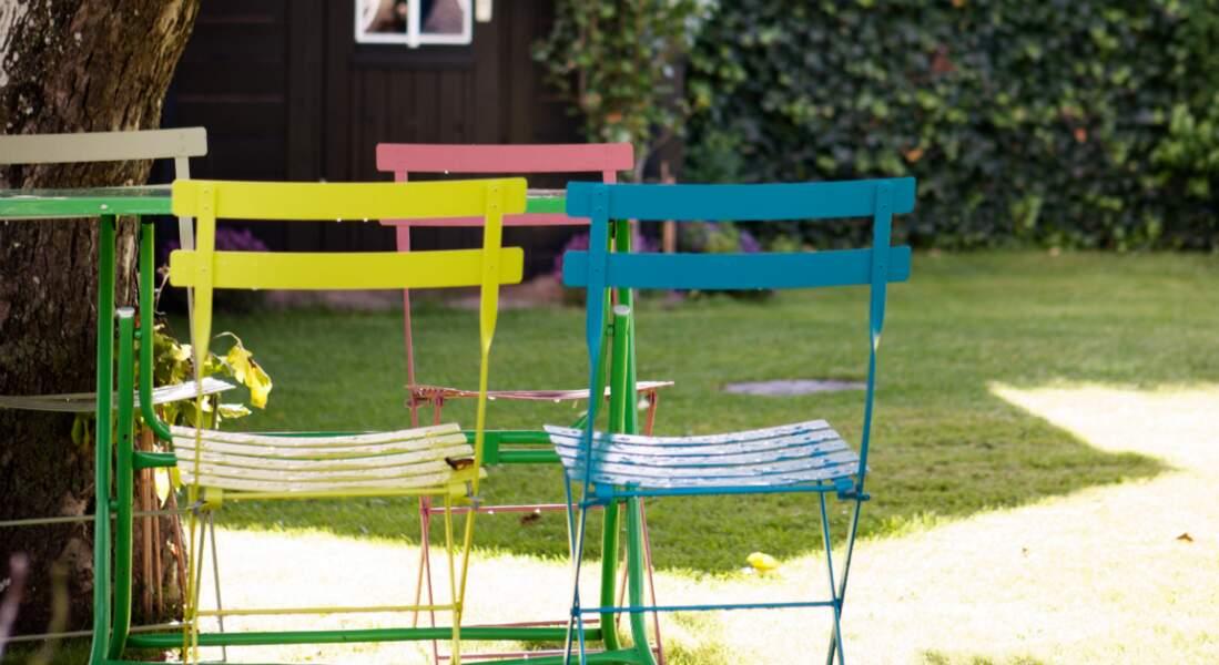 Comment repeindre ses meubles de jardin