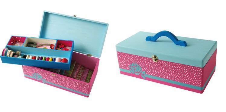 Je fabrique une boîte à couture