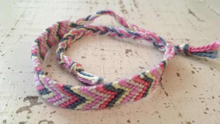 Un bracelet brésilien facile
