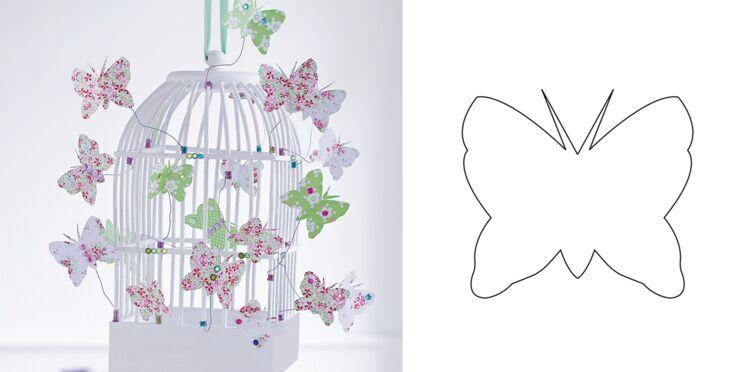 Je crée une volière à papillons