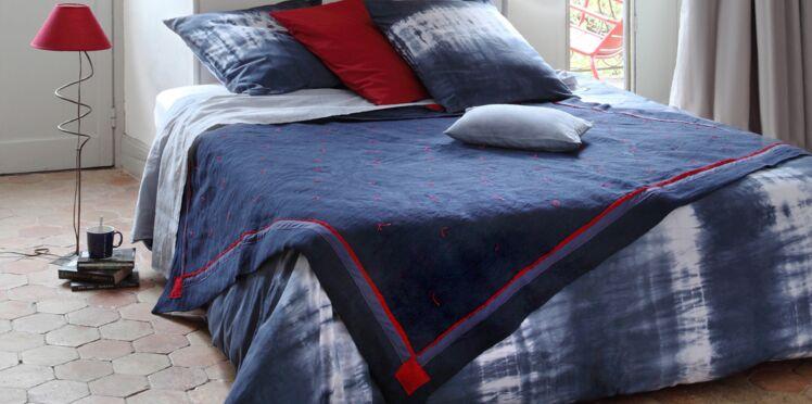 Une parure de lit tie & dye faite maison