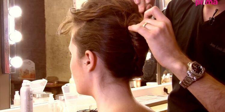 Vidéo : une coiffure de mariée rock