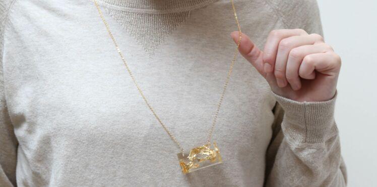 Je fabrique un collier en résine
