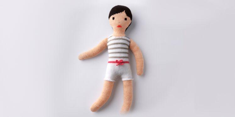 Je tricote une poupée petit mousse
