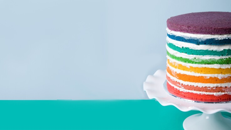 Comment faire un rainbow cake ?