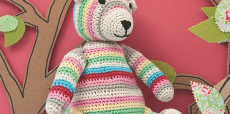 Ours Au Crochet Femme Actuelle Le Mag