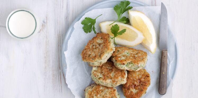 Fish cakes au yaourt