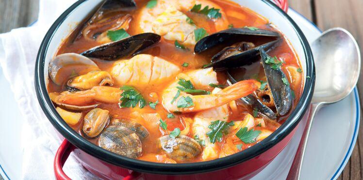 Soupe du pêcheur au safran