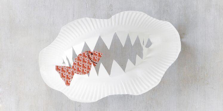 Je fabrique des dents de requins