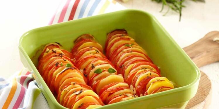 Tian Pompadour et tomates