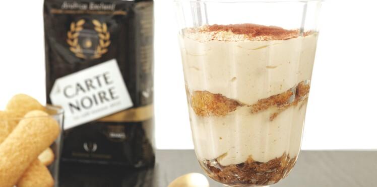 Tiramisu express au café