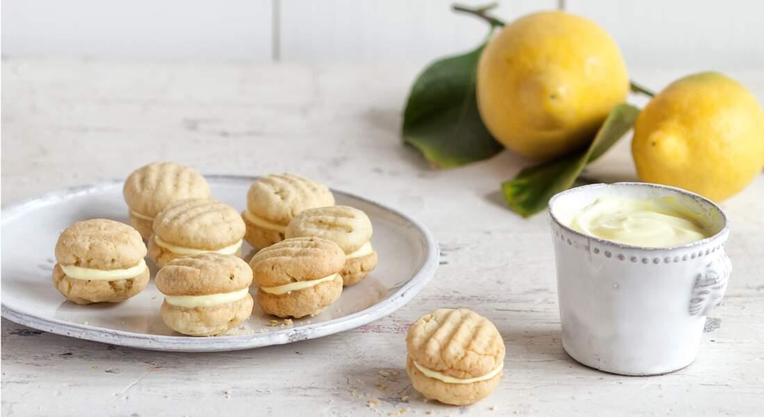 Des biscuits au citron