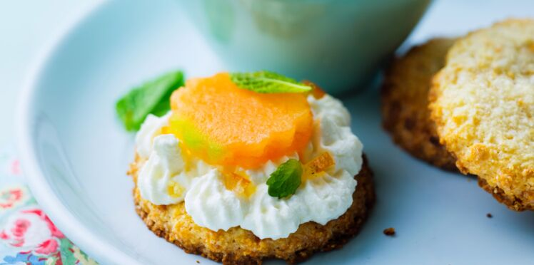 Dessert au melon façon calisson