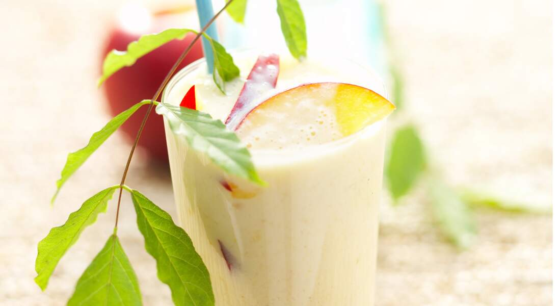 Milk-shake brugnon et lait d'amande