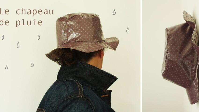 Un chapeau de pluie DIY