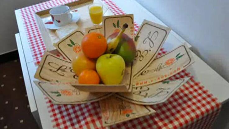 Réaliser une corbeille à fruits en bois