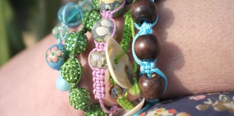 Les bracelets shamballa de Julie Adore