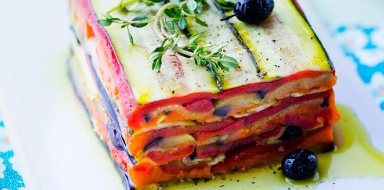Terrine de légumes confits aux olives