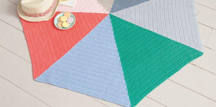Mon tapis au crochet